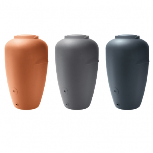 Amphora 2in1 Regenspeicher 440 l Regentonne Regenfass Regenamphore Amphore
