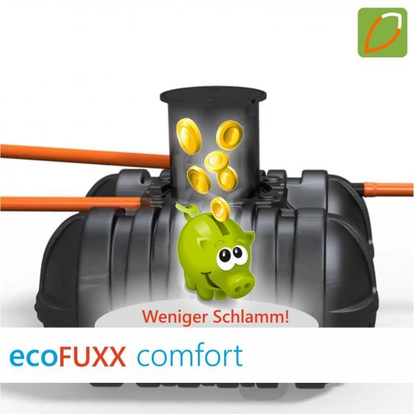 ecoFUXX comfort 2-4 EW Kleinkläranlage im Kunststoffbehälter