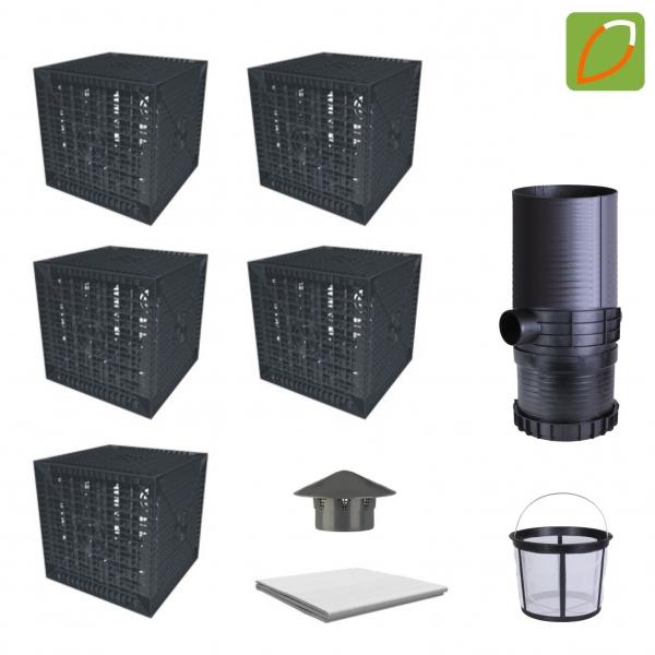 AquaBOXX 205 l Sickerbox zur Regenwasserversickerung - Einzelbox oder Set