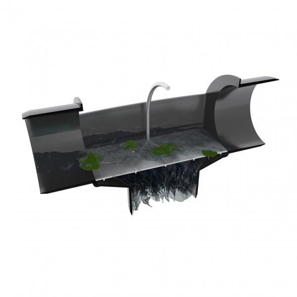 Alphaclean Regenwasserfilter DN100