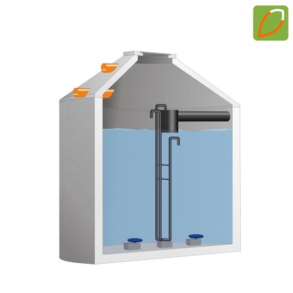 ecoFUXX one 6-12 EW Kleinkläranlage im Betonbehälter frei Haus!