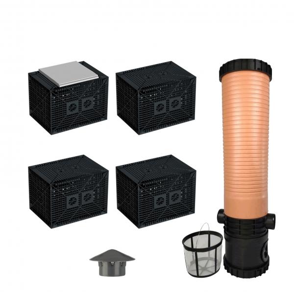AquaBOXX 280 l Sickerbox zur Regenwasserversickerung - Einzelbox oder Set