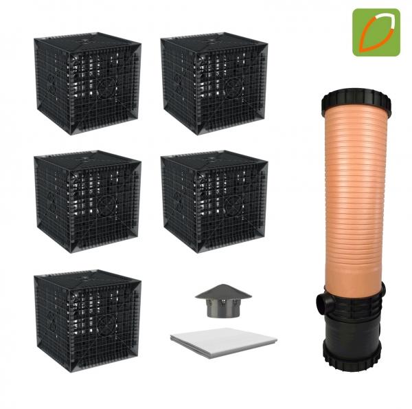 AquaBOXX Sickergraben hinter einer Kleinkläranlage - Einzelbox oder Set